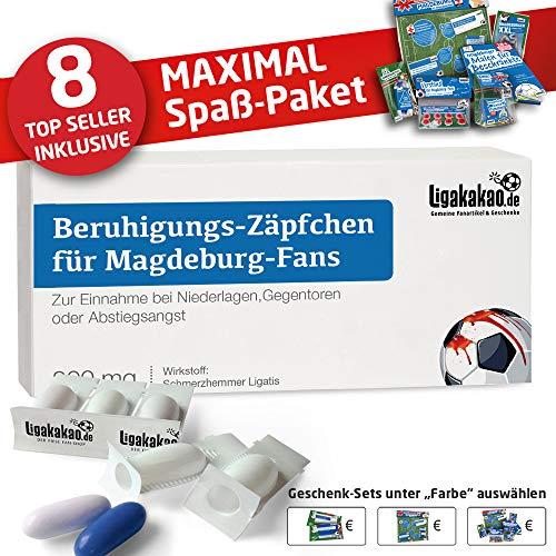 vereins-Fahne ist jetzt das MAXIMAL SPAß Paket für MAGEBURG-Fans by Ligakakao.de