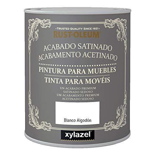 xylazel 4110103 Pintura para Muebles Blanco Algodón, 750 ml