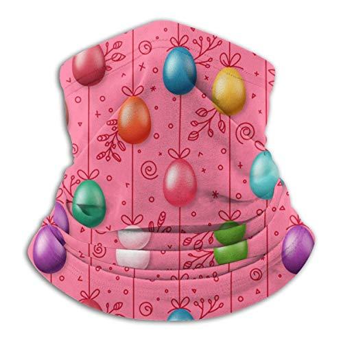 UKUK Huevos de Pascua en la Cuerda de Vacaciones Multifuncional Headwear Leggings Magia Bufanda Mascarilla Pasamontañas Deportes Yoga Moto Equitacion