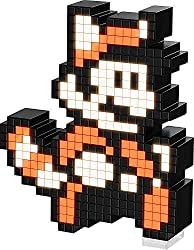 Officially licensed by Warner Bros Light up pixel-art renditions of iconic characters Features collectible characters AAA battery powered (Batteries not included)