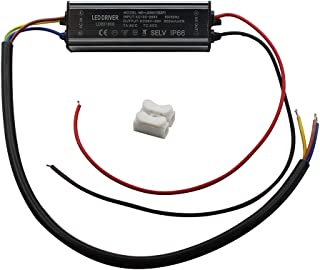 Fankerba Aluminium IP66 30W LED Driver 900mA (Constant Current Output) / DC 26-36V (Voltage Output) / AC 100-265V (input votage) Waterproof Power Supply Lighting Transformer Drivers Ballast