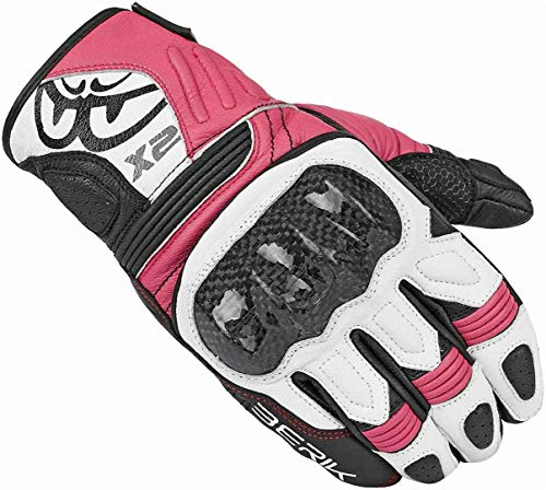 Berik LDX Damen Handschuhe XL Schwarz/Pink