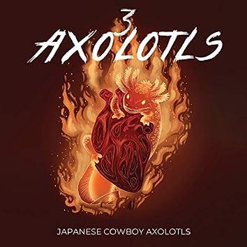 3 Axolotls