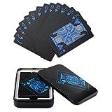 Leaptech Cubierta impermeable de tarjetas del pker con la caja