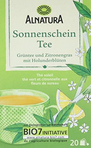 Alnatura Sonnenschein Tee, 6er Pack (6 x 60 g)