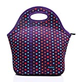 Cosfash Neoprene Lunch Tote Insulated Reusable Picnic Lunch Bags Boxes for Men Women