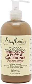Shea Moisture Jamaican Black Castor Oil Grow and Restore Rinse Out Conditioner for Unisex - 13 oz