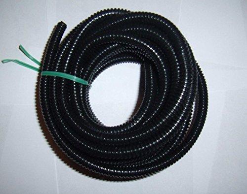 """1/4"""" Split Wire Loom Conduit 10 Ft. 1/4"""" Split Car Power Amp Automotive"""