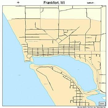 Best frankfort michigan map Reviews