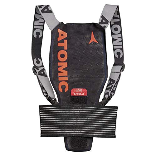 ATOMIC Kinder Live Shield Jr Ski-Rückenprotektor, black, M