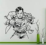 zqyjhkou Hombre American Man Walking Mochila Somthing Pattern Wall Sticker Home Art...