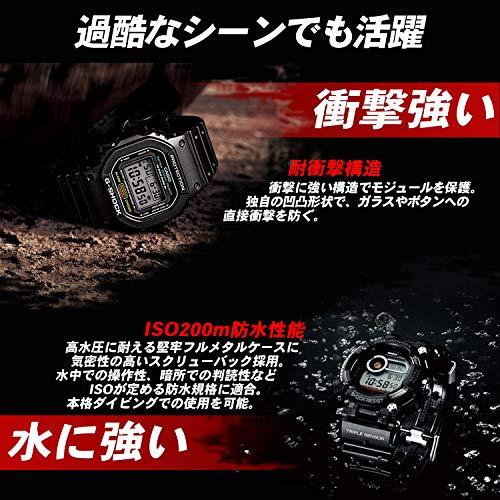 [カシオ]腕時計ジーショックダイバーズウォッチFROGMAN電波ソーラーGWF-1000-1JFブラック