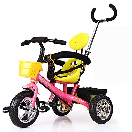 Great Price! NBgy Kid Foldable Stroller Trike,Beginner 3 in 1 Tricycles, 2-6 Years Old Boys Girls ...