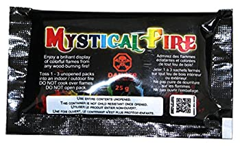 Mystical Fire Flame Colorant Vibrant Long-Lasting Pulsating Flame Color Changer for Indoor or Outdoor Use 0.882 oz Packets 3 Pack