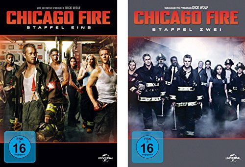 Chicago Fire - Staffel 1+2 (12 DVDs)