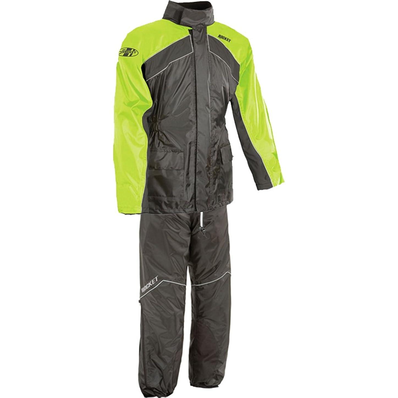 無礼にフィールドジョージハンブリーJoe Rocket rs-2メンズ2ピースStreet Racing Motorcycle Race Suit?–?Hi - Viz/ネオン L 1010-2404-SU-FBA
