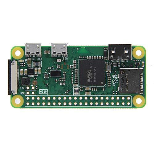 weichuang Elektronisches Zubehör RPi Zero W 1GHz Single-Core CPU 512MB RAM Unterstützung Bluetooth und Wireless LAN Elektronisches Zubehör Elektronisches Zubehör
