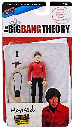 The Big Bang Theory Action Figures with Diorama Set Howard TOS EE Exclusive 10 c