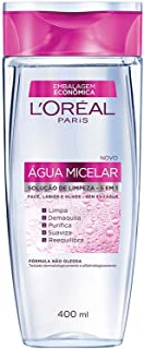 Água Micelar 5 em 1, L'Oréal Paris, 400ml