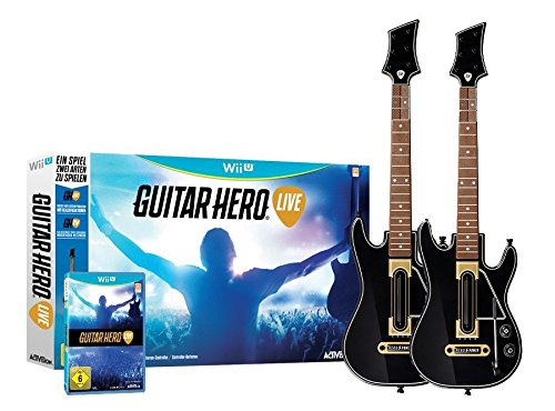 Guitar Hero - Live inklusive 2 x Gitarre für Nintendo Wii U