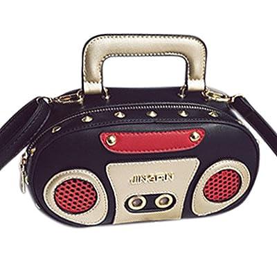 QZUnique Women's Elegant Tape Shaped Shoulder Bag Vintage Style Clutch Handbag