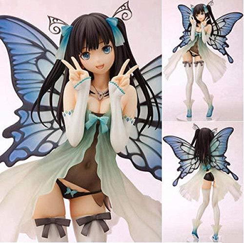 No Figura de acción PVC Mano Juguete Manga Japonesa tu Mentira en Abril gongyuan Xun Anime PVC Hecho a Mano Hermosa niña muñeca decoración 20 de Alto
