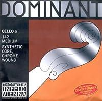 CUERDA VIOLONCELLO - Thomastik (Dominant 142) (Metal/Cromo) 1ェ Medium Cello 4/4 (La) A (Una Unidad)