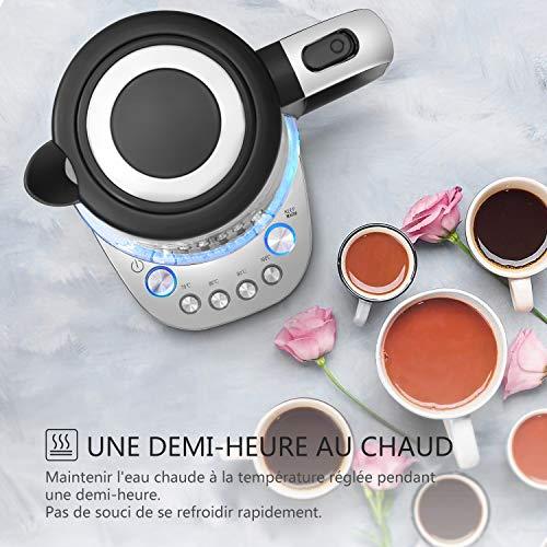 Bouilloire en Verre Thermostat Réglable 4...