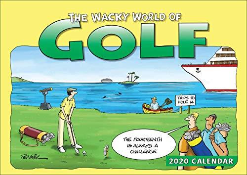 Wacky World of Golf A4 Calendar 2020
