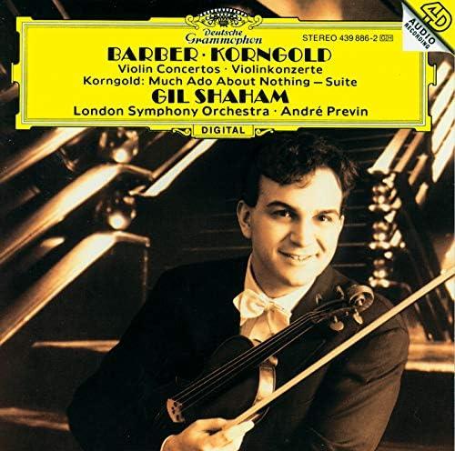 Gil Shaham, London Symphony Orchestra, André Previn, Erich Wolfgang Korngold & Samuel Barber