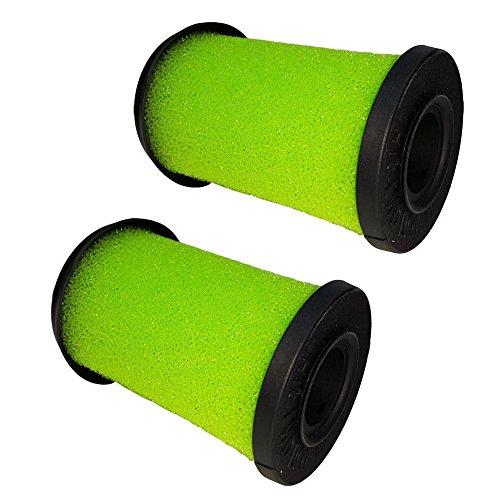 Green Label 2er-Pack Waschbarer Filter für Gtech Multi Handstaubsauger