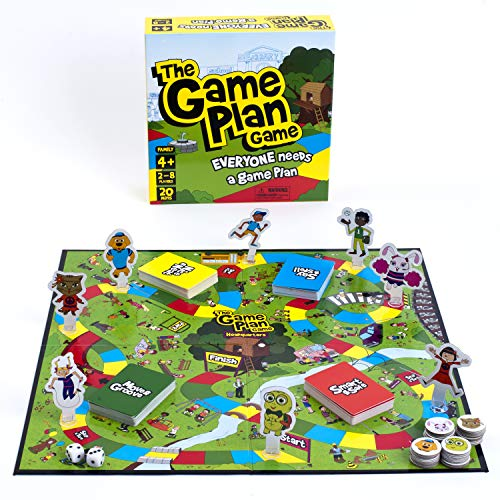The Game Plan Game: Life Skills for Kids   Safety Issues, Feelings Management, Social Skills