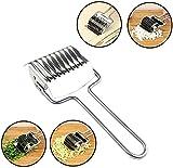 麺カッターステンレス鋼パスタスパゲッティメーカー麺格子ローラードッカー生地カッターミンサーキッチンツール