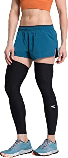 ENERSKIN E75 FDA Approved Graduated Medical Grade mmHg Leg Compression Sleeves with Kinesiology Muscle Mapping