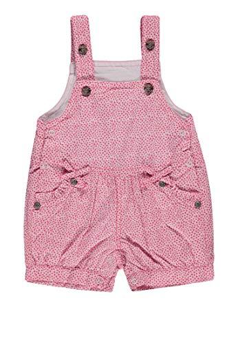Steiff Baby-Mädchen Latzshorts Shorts, Mehrfarbig (Allover|Multicolored 0003), 56