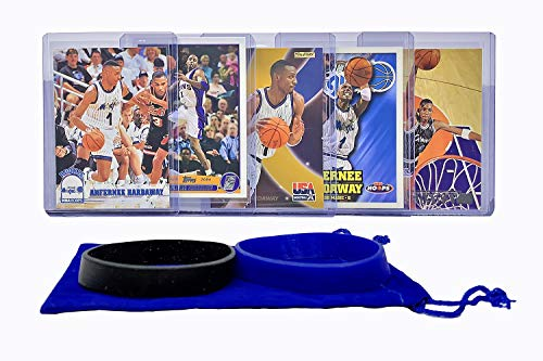 Anfernee Penny Hardaway Basketball Cards Assorted (5) Bundle - Orlando Magic Trading Card Gift Pack