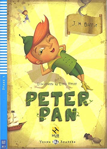Peter Pan - Série HUB Young ELI Readers. Stage 3A1.1 (+ Audio CD)