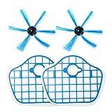 Brosse latérale et filtre HEPA pour Philips Robot FC8013 FC8774 FC8772 FC8776 Pièces de rechange pour aspirateur