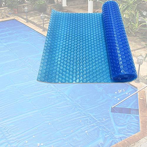 YJFENG Cubierta para Clima De Piscina, Cubierta Solar para Piscina, Aislamiento Térmico De Burbujas Rectangulares A Prueba De Polvo, para Piscinas Inflables, Jacuzzi (Color : Blue, Size : 4.7x2.5m)