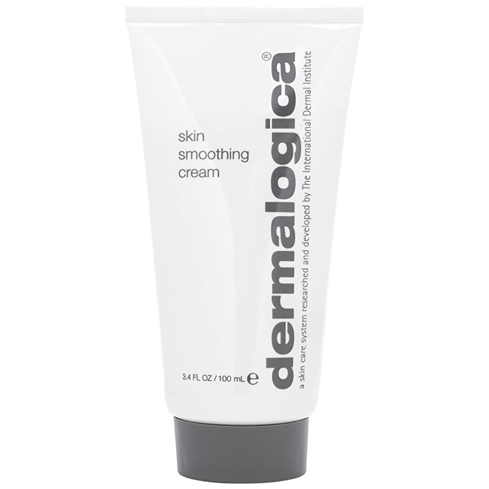 宣言する周術期有害なダーマロジカスキンスムージングクリーム100ミリリットル (Dermalogica) - Dermalogica Skin Smoothing Cream 100ml [並行輸入品]