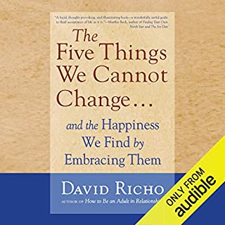 The Five Things We Cannot Change.... audiobook cover art