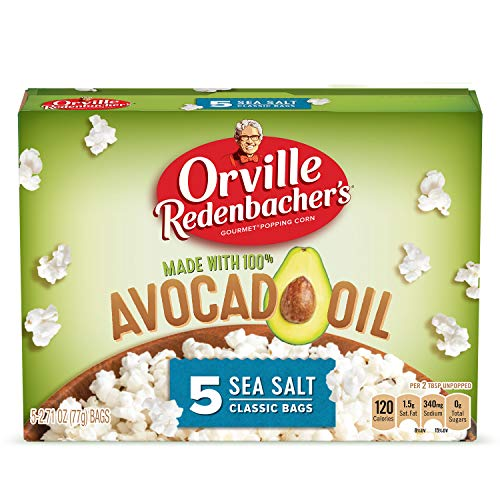 Orville Redenbacher's Avocado Oil Microwave Popcorn, 2.72 oz. 5-Count
