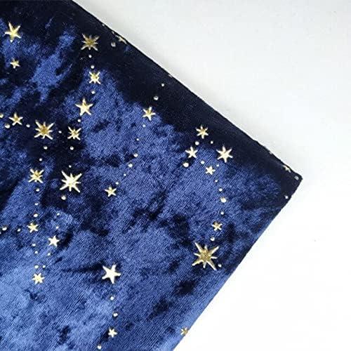 Star velvet fabric