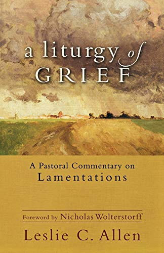 Image of A Liturgy of Grief: A Pastoral Commentary on Lamentations