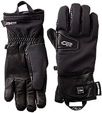Outdoor Research Stormtracker Heated Gloves, Black, Medium