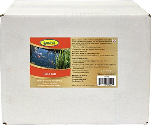 EasyPro Pond Products EPS50 Pond Salt, 50 lb boxed