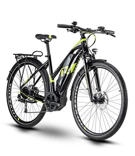 RAYMON Tourray E 4.0 Damen Pedelec E-Bike Trekking Fahrrad schwarz/grün 2020: Größe: 48 cm