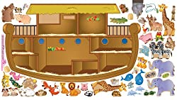Interactive Wall Play Set, Noah's Ark