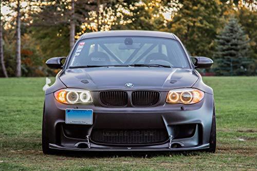 LUX H8 V6 Adjustable White LED Angel Eyes BMW