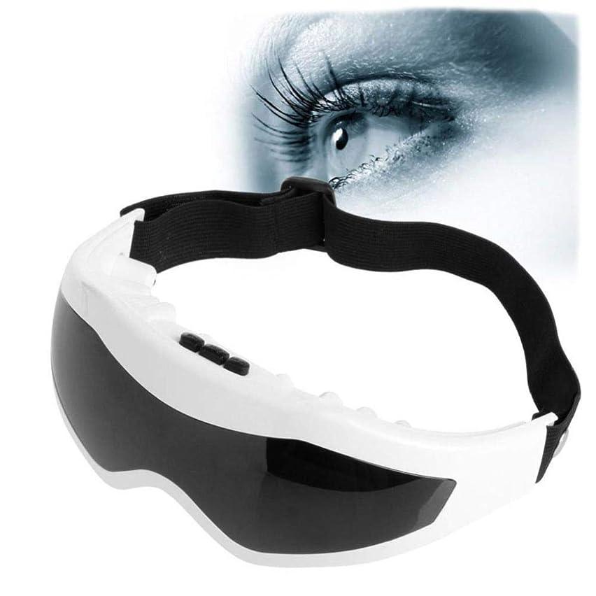欠かせないアーサー化学電気アイマッサージャー、9種類のマッサージ方法USB充電式、アイケアマッサージリラックス振動を軽減指の圧力を軽減します目の疲れを軽減するための保護器具